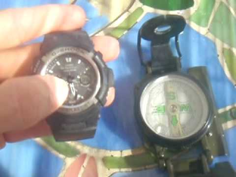 How to find direction with a watch