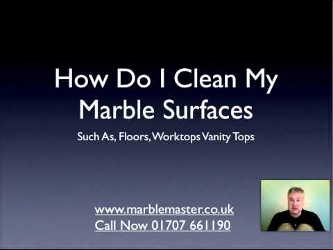 How To Clean Marble Surfaces