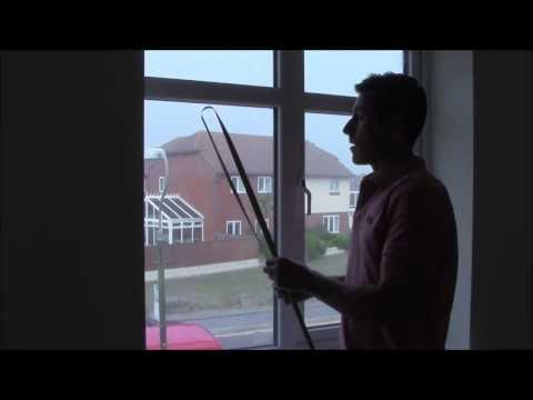 HOW TO MEAURE FOR ROLLER BLINDS - YOUTUBE - exact and recess blinds