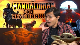 "The Mandalorian 1X8 ""The Redemption"" Reaction! Baby Yoda Vs The Finale!!"