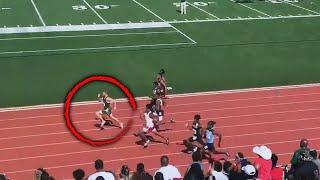 Teen Nearly Breaks World Record as Fastest Man