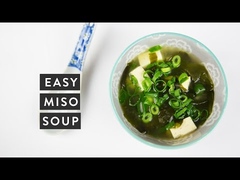 How to Make Easy Miso Soup | Japanese Cooking | Miss Louie