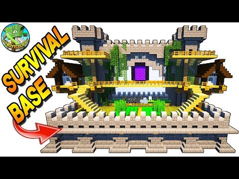 Minecraft 2-Player Survival Base - Everything YOU Need!