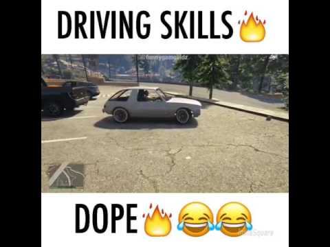 fuuny GTAV driving skills of women