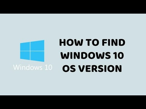 How to Find Windows 10 OS Version   Easy Tutorials In Hindi