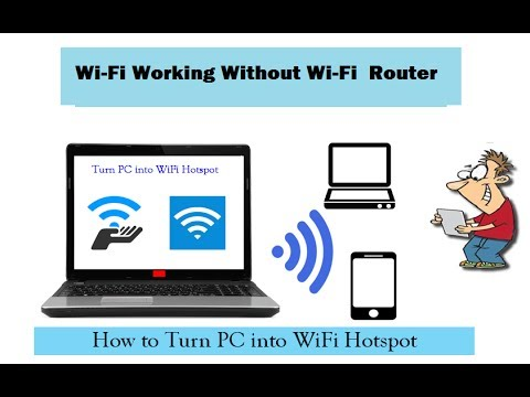 How To Make PC Laptop Wi-Fi Hotspot By Broadband Connection Bangla  Tutorial 2017 !!