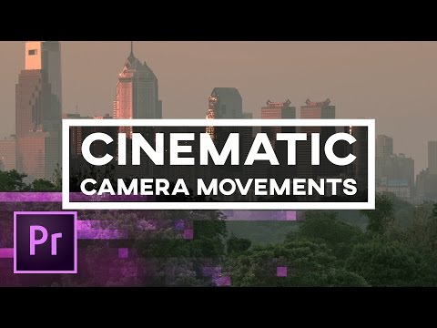 5 Cinematic Camera Movements You Can Create in Premiere Pro – Animation, Keyframes, and 3D Camera