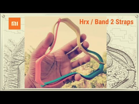 Mi Band 2 / HRX Band Straps