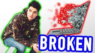 BROKE My $3000 Laptop!