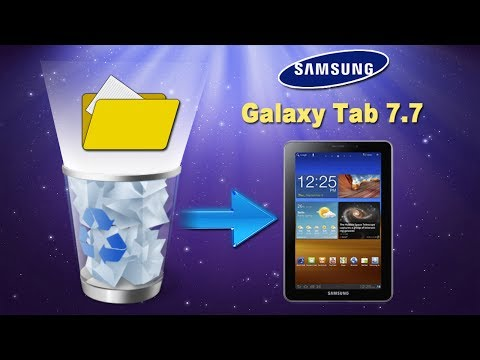 [Galaxy Tablet 7.7]: How to Recover Deleted Media Files (Photos/Videos/Music) from Galaxy Tab 7.7