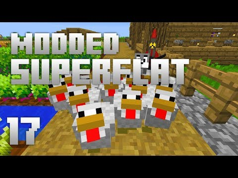 ►Modded Superflat - NEW TOOLS!   Ep. 17   Modded Minecraft Survival◄
