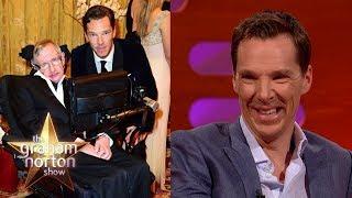 Benedict Cumberbatch Told Stephen Hawking Star Trek Spoilers   The Graham Norton Show