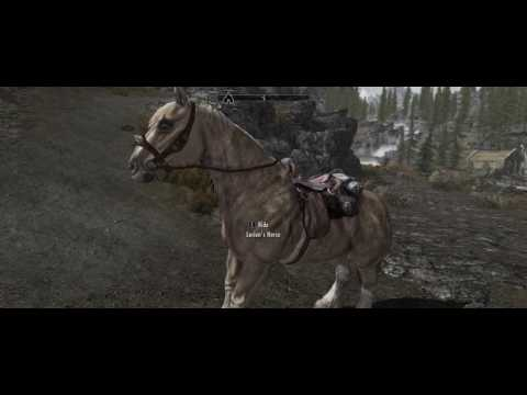 Skyrim SE Horse Storage and Whistle