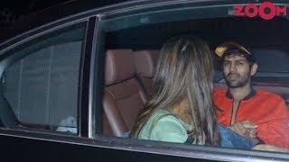 Kartik Aaryan & Sara Ali Khan spotted ROMANCING in car late night?