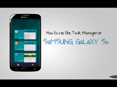 GALAXY S5 - How to use the Task Manager on Samsung Galaxy S5