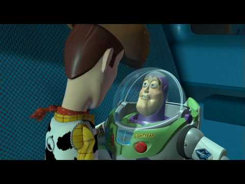 Sherif Woody and Buzz  fight