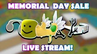 🔴 TRASH ROBLOX MEMORIAL DAY SALE 2020 LIVESTREAM! DAY 2! 🔴