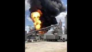 "Urgent: ""Massive Explosion Ohio Chemical Plant"" 3 Hurt"