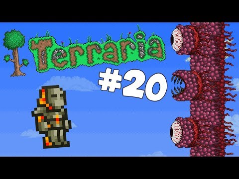 Let's Play Terraria Android Edition -Destroying the Wall of Flesh!- Episode 20
