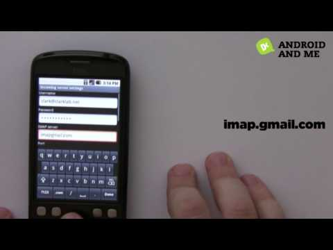 Setting Up A Google App Email on an Android Device