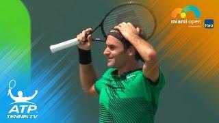 Roger Federer beats Rafa Nadal to win Sunshine Double | Miami Open 2017 Final Highlights
