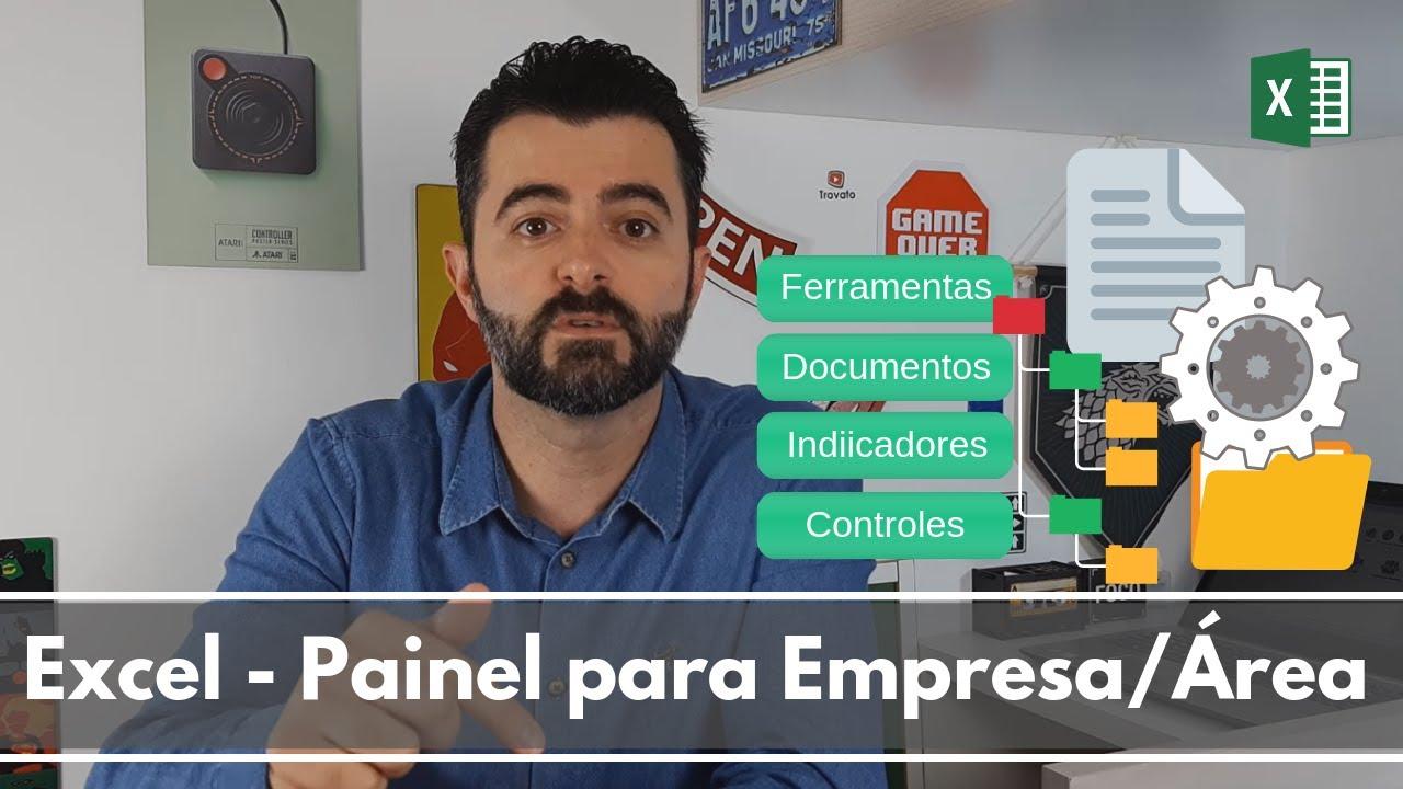 Excel - Painel Facilitador de Acesso da Empresa