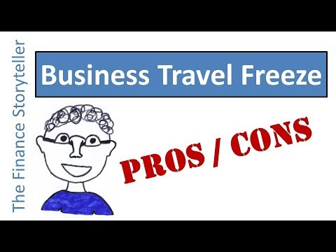 Travel freeze in business - saving on travel expenses?
