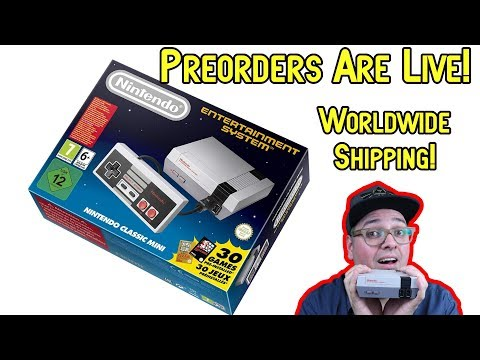 Get One Now! NES Classic Edition June 29th Preorder Live!