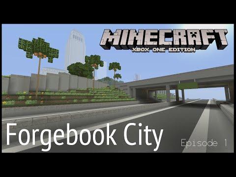 Minecraft Xbox - Forgebook City (Episode 1)