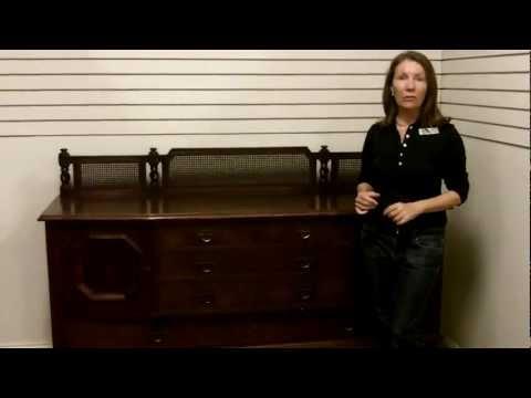 Antique Stickley Furniture, Antique sideboard buffet Stickley Quaint Furniture antique furniture
