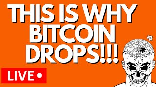 THIS IS WHY BITCOIN DROPS!!!