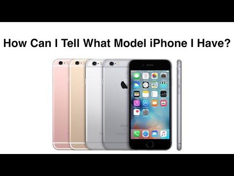 How Can I Tell What Model iPhone I Have - iPhone Thru iPhone 6s