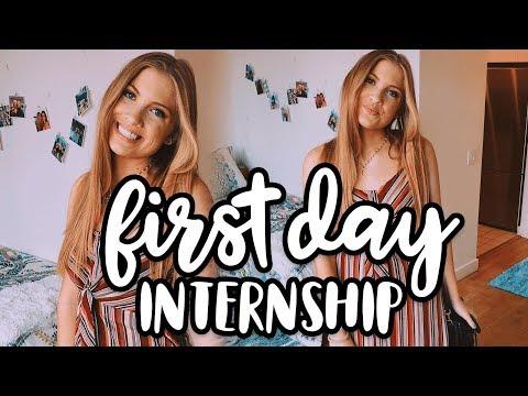 GRWM // First Day of my Internship! (Summer 2018) | Lottie Smalley