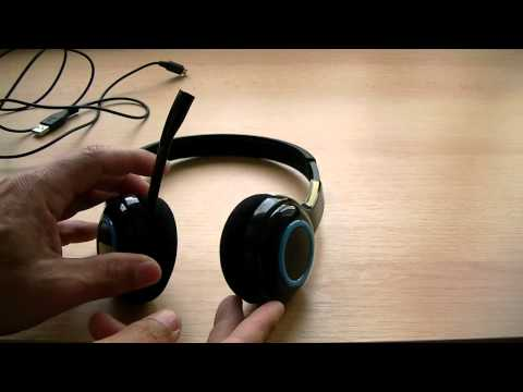 Logitech Wireless Headset H600, Teste de Audio e Distancia.HD