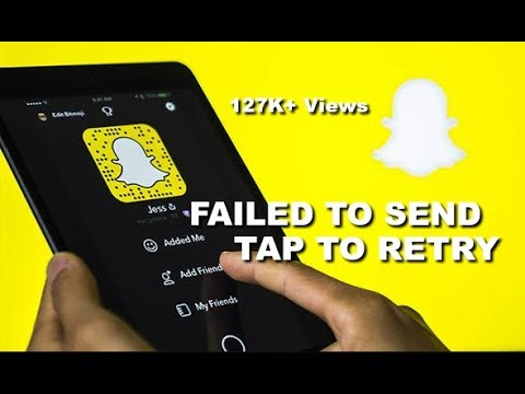 Failed to Send-Tap to Retry:How to Fix Snapchat Error | DevilZone |