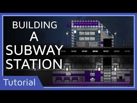 Building a Subway Station | Terraria