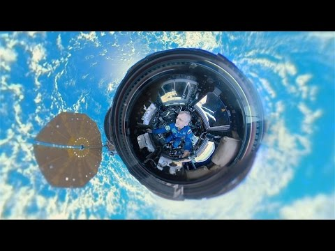 watch Space 360: First-ever panoramic view of Earth from aboard Intl Space Station