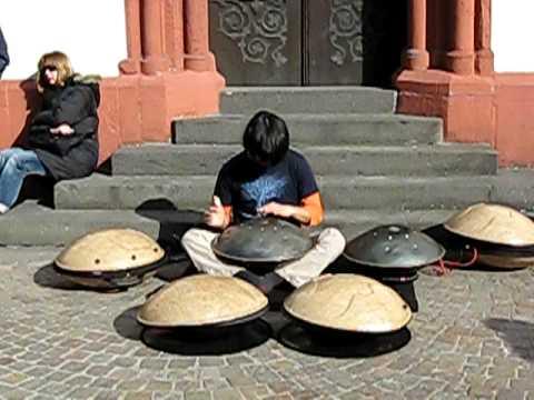 Great street musician