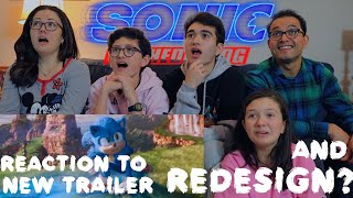SONIC THE HEDGEHOG - NEW OFFICIAL TRAILER    MAJELIV REACTION 2019