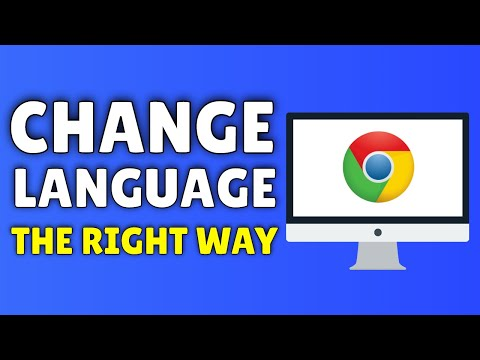 How To Change Language On Google Chrome