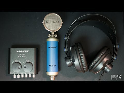 Neewer Recording Kit for YouTube (NW-2S, NW-88, NW-680) Review / Test / Explained