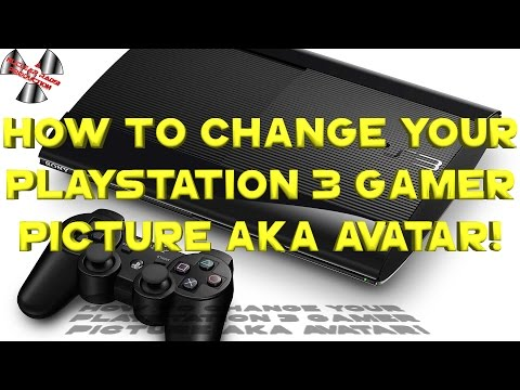 How to Change your Playstation 3 gamer picture AKA Avatar!