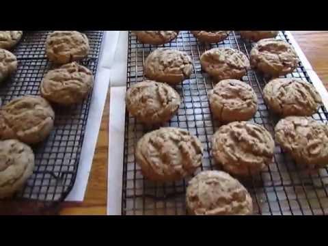 Paula Bakes Some German Chocolate Toffee Cookies