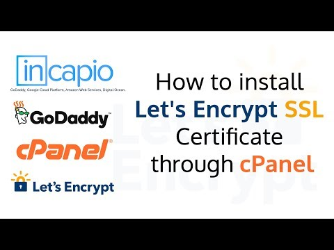 How to install Let's Encrypt SSL Certificate through cPanel | GoDaddy | SSL for free | 2018