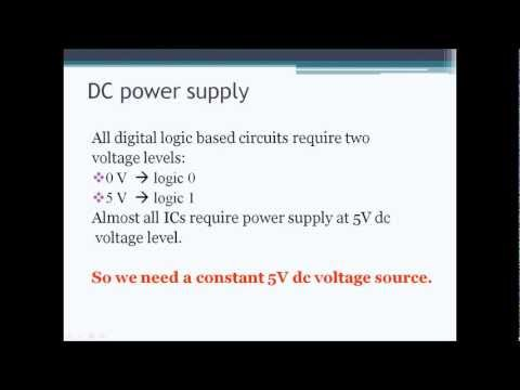 1. Introduction to Proteus and Simulating a 5V dc Power Source