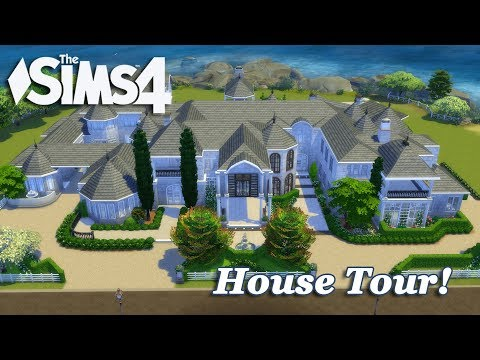 The Sims 4 - Hidden Hills Mansion! (House Tour!)
