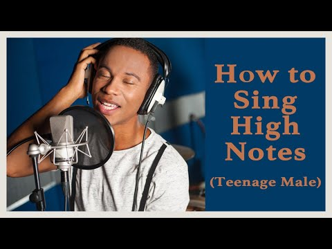 Ep.14: Singing Tips  How To Sing High Notes for Teenage Boys