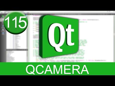 Tutorial Qt Creator - QCamera (WebCam en C++)