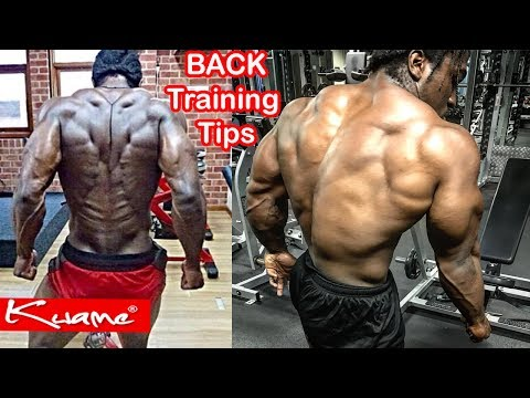 Bodybuilding Tips: How to get a thick and WIDE back