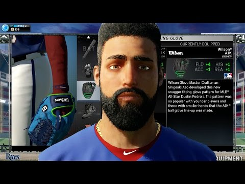 MLB 15 The Show Road to the Show PS4 Gameplay - Import MLB 14 Player, New Equipment, Batting Stance